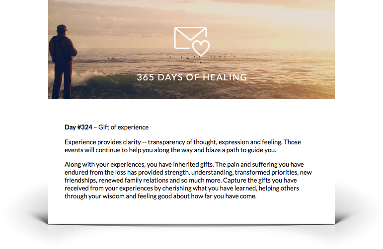 Grief Support E-mail